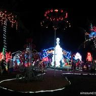 괌 자유여행 크리스마스 빌리지 관람 및 핫도그 야식!