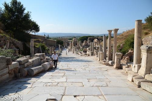 터키여행기 - 2011년 8월12일 셀축(에페소 유적)