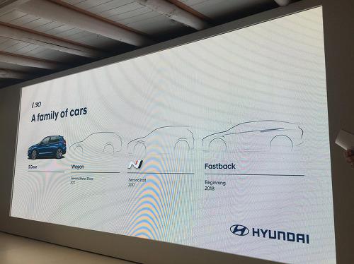 현대 i30 고성능 'N' 모델은 올해, '패스트백' 모델은 내년에 나온다.
