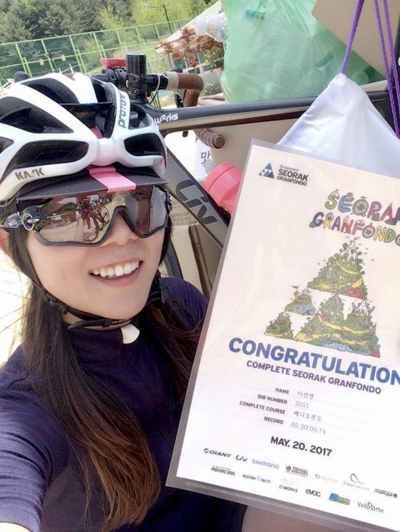 [자전거대회] 2017 설악그란폰도 메디오 2번째..