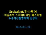 ScubaNet/하나투어 아닐라오 스쿠버다이빙 페스티벌 수중사진촬영대회 입상작