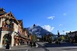 밴프의 아침 - 캐나다 록키 렌트카 여행