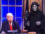 트럼프, 박근혜와 SNL의 전쟁