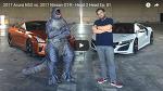 [MOVIE] 라구나 세카 랩 타임 대결 - Acura NSX vs 2017 Nissan GT-R