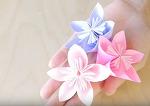 종이접기 꽃 벚꽃2