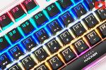 화려한 LED와 부드러운 키감을 가졌다! 앱코 해커 K970 무접점 키보드 사용기!