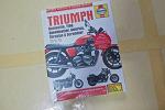 트라이엄프 본네빌 T100 출고시 책자 및 헤인즈 서비스 정비 매뉴얼, Triumph Bonneville T100 Haynes Service Repair Manual, 클래식바이크