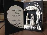 결혼 선물로 제작한 BookArt