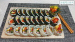 알록달록, 영양만점! 엄마표 파프리카 김밥