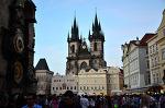 체코 프라하 여행- 바츨라프광장, 틴성당 천문시계 Czech Praha