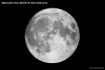 2014년 가장 작은 보름달 (Smallest Full Moon of the Year 2014)