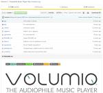Volumio 2 RC1 - 라즈베리를 위한 최고의 Music Player