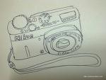플레인 손그림 카메라 (NIKON COOLPIX P310)