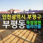 인천 건물매매, 부평 원룸건물매매 옥상정원과 테라스가 있는곳