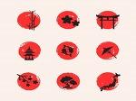 디자인에 사용하기 좋은 일본 일러스트