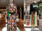 일본매장에서 제안한 올봄 유행 꽃무늬 패션