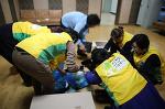 신천지자원봉사단 파주지부, 전국 미용인들의 축제 더욱 빛나게 해