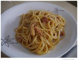 Spaghetti VSOP carbonara