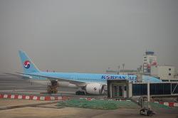 대한한공 드림라이너 B787-9 첫 비행하는날 (KE1209/1210)