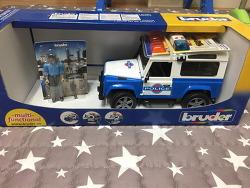 3세 크리스마스 선물 독일 프리미엄 작동완구 브루더 (BRUDER)  나비타월드 랜드로버 경찰차세트