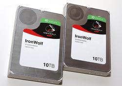 씨게이트 IronWolf 10TB, NAS를 위한 새로운 라인 가장 큰 용량