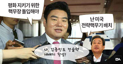새누리당의 핵무장론, 북한의 지령을 받기라도 했나?