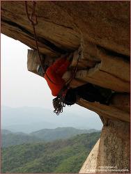 새남바위 용화산의 전설 등반