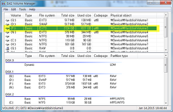윈도에서 리눅스 파일시스템(EXT3, EXT4) 불러오기 - Ext2FSD
