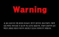[warning] 니들이 말하는 게임은 뭐야?