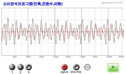 소리의3요소 진폭,진동수,파형 실험- 컴퓨터용과 스마트폰용