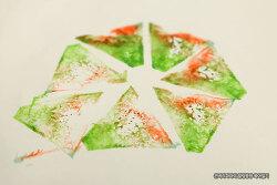 창의력을 높여주는 버리는 수박껍질을 활용한 미술놀이~!
