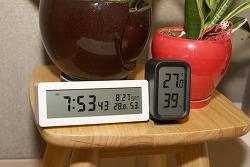 무인양품 탁상시계 깔끔한 디지털시계 구매기