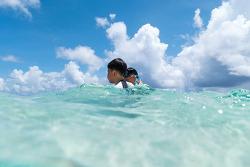 괌여행 - 리티디안 포인트(Guam Rtidian Point) 의 해변에서 촬영한 사진 그리고 동영상