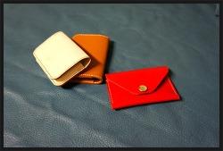 #5 Card Case(레드, 탄, 내츄럴)