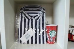 [Yuvid Look구매보고서] 지오송지오 볼드스트라이프 셔츠