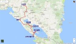 [여행루트] 산후안델수르 → 오모테페 → 그라나다 → 마나과 → 레온 → 소모토