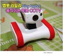 움직이는 CCTV 앱봇 추천! 탱크 발통 달린 가정용 CCTV 라일리