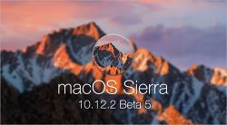 애플, macOS 시에라 10.12.2 다섯 번째 베타 버전 공개… 버그 수정 및 성능 개선, APFS 업데이트 등