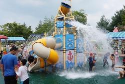 아이디어가 반짝, 함안 함주공원 물놀이장