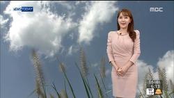150916 MBC 뉴스투데이 이현승 기상캐스터