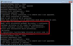 """[Ubuntu] error processing package """"[package name]"""""""