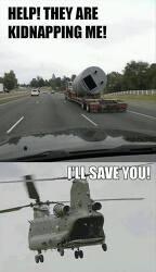 짤 움짤 GIF 이미지 - 납치당했어 도와줘! 헬기 표정