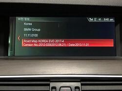 BMW NBT EVO 2017-4 맵 업데이트 완료!!!