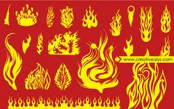 불꽃 일러스트
