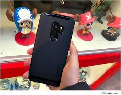 가장 블랙다운 슈피겐 갤럭시S9 케이스 네오하이브리드 추천, S9 플러스 미드나잇 블랙 케이스
