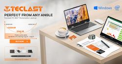 태클라스트 Teclast F5 360도 돌아가는 디스플레이 + 터치스크린 랩탑 노트북 세일
