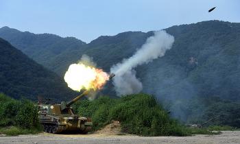 북한 포격 도발 대응사격 상기…휴전선 일대 모든 전선서 역대 최대 규모 포병훈련