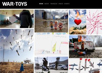 시리아 난민 아이들이 본 세상을 장난감으로 재현한 사진작가