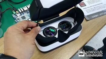 가상 현실 VR 기기 폭풍마경4와 VR 디클 비교
