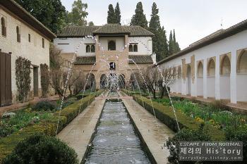 59. 그라나다의 상징 알함브라 궁전에 가다 (3편) - 왕들의 휴식처, 헤네랄리페